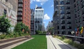 High Line Park: Ze staré dopravní dráhy vznikla zelená pěší oáza