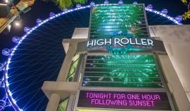 High Roller v Las Vegas: Největšímu ruskému kolo světa šlape na paty Dubaj
