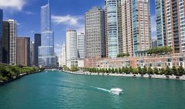 Nejvyšší mrakodrap Donalda Trumpa mají v Chicagu