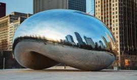 Fascinující stotunová fazole se stala hitem Chicaga. Máme její fotky!