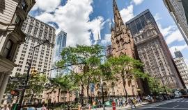 Půvab mezi mrakodrapy: kostel, který chránil Newyorčany 11. září