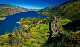 (Ne)existující Columbia River: Povodí 8x větší než Česko a vodopády jako z Roklinky