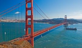 Na barvě prý nezáleží. U mostu Golden Gate ano