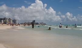 Zlatými písky Miami