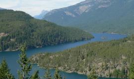 Od zátoky Puget Sound k azurovým jezerům v parku North Cascades