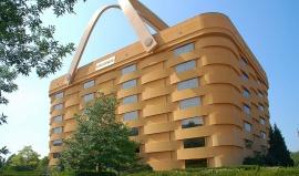 Budova s ujetým patentem: Vypadám jako obrovský košík a jsem na to hrdá!