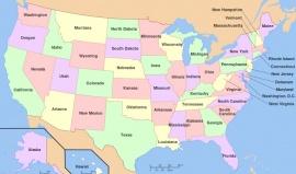 Jak přišly státy USA k jejich názvům?