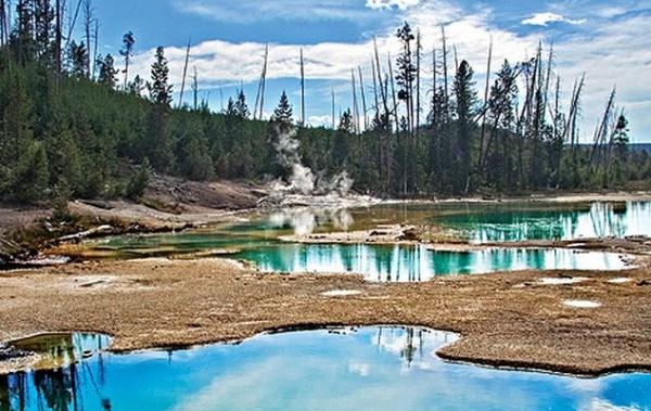 Yellowstone jezírko