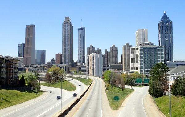 Mrakodrapy v Atlantě, Georgia, USA - Amerika.cz
