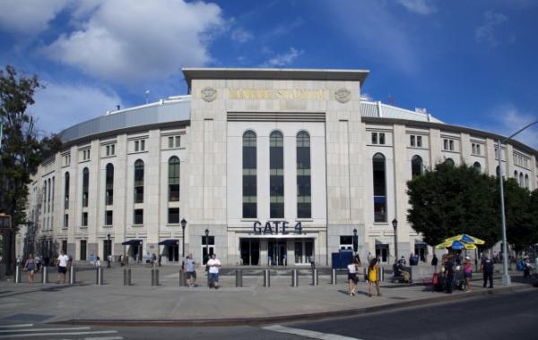 Yankee Stadium v Bronxu