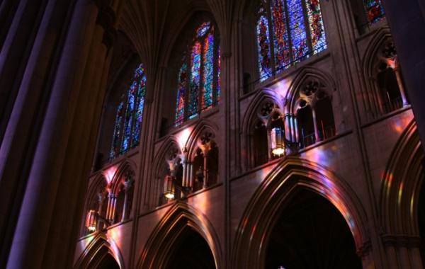 Washington National Cathedral - stínohry