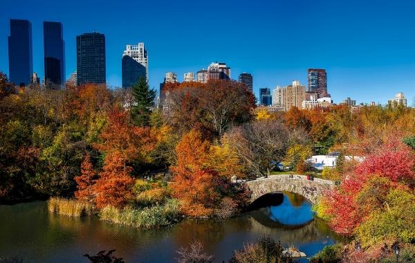New York na podzim