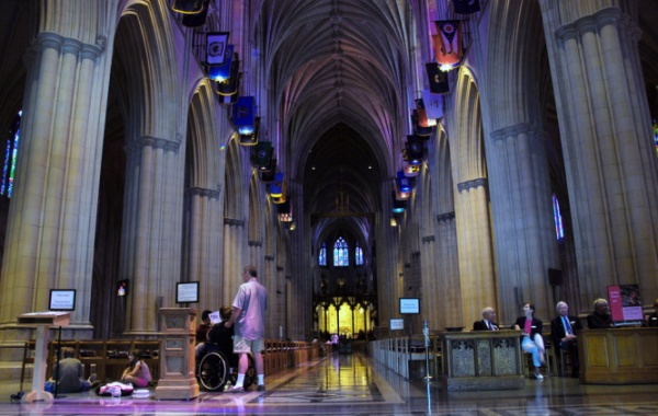 Washington National Cathedral - vnitřek