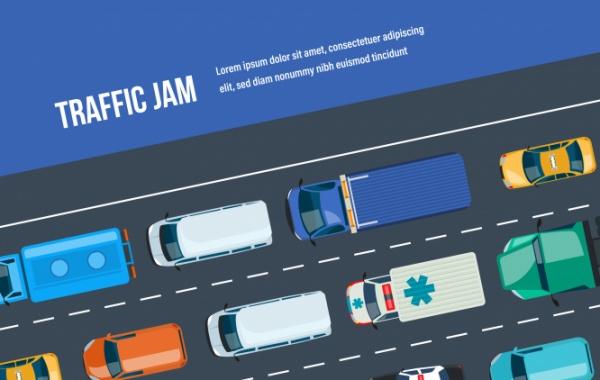 Doprava v USA - pravidla silničního provozu, zácpy