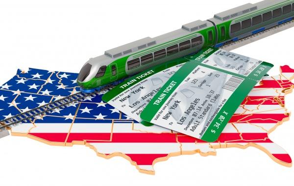 Doprava v USA - cestování vlakem, Amtrak, USA Rail Pass