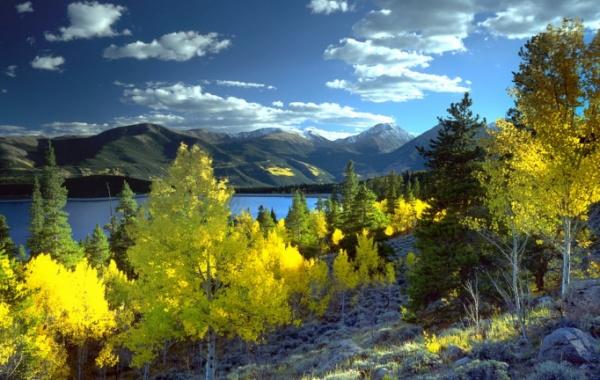 Podzimní příroda ve státě Colorado - Amerika.cz