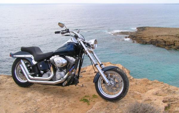 Doprava v USA - cestování motocyklem, Harley Davidson