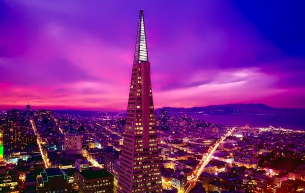 San Francisco v noci - Amerika.cz