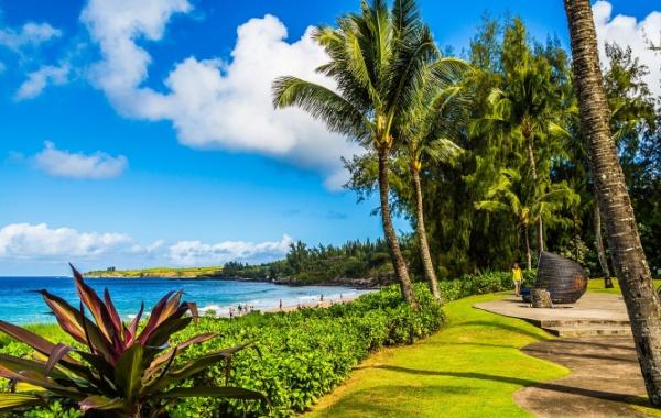 Lahaina na havajském ostrově Maui