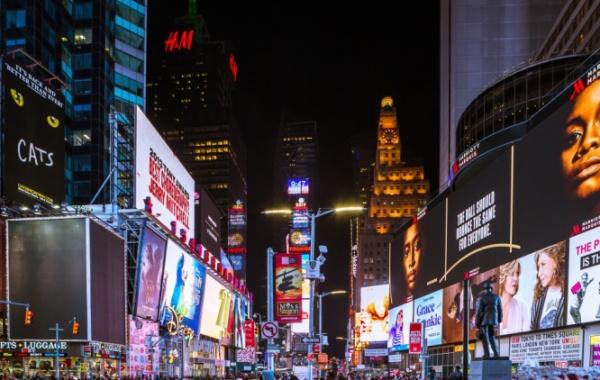 Ruch a mumraj města New York