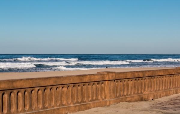 Mission Beach, Kalifornie, USA