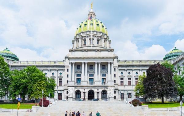 Kapitol státu Pensylvánie v Harrisburgu