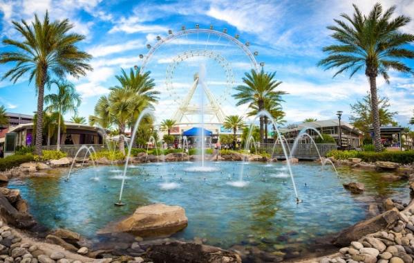 120 metrů vysoké oko shlíží na Orlando