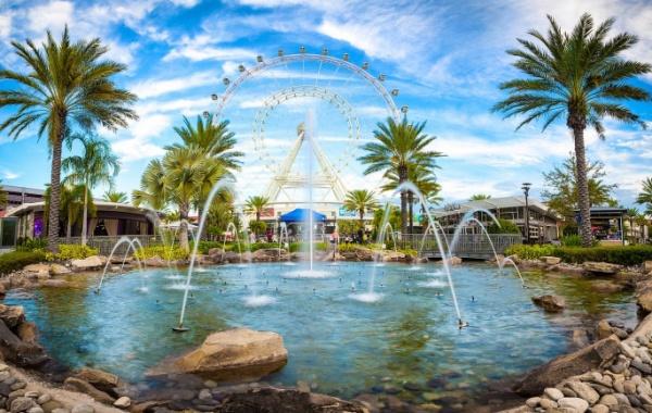 Ruské kolo Orlando Eye na Floridě