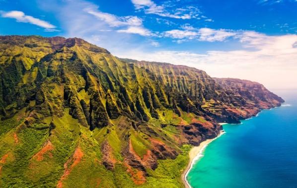 Letovisko Kapaa najdete na ostrově Kauai. Kauai je čtvrtý největší havajský ostrov