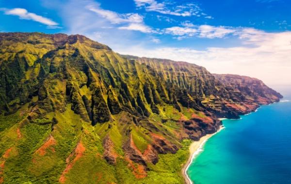 Na Pali Coast na Havaji