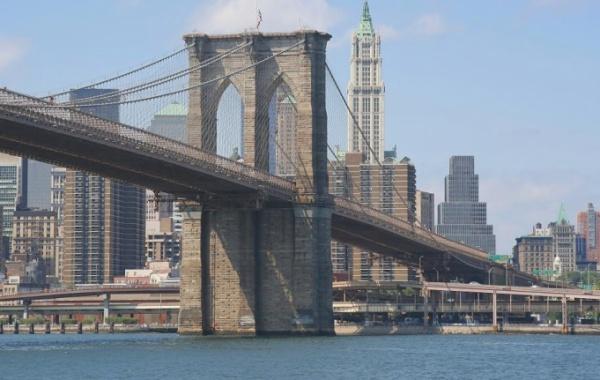 Brooklynský most na podzim