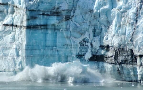 Tající fjord v NP Glacier Bay na Aljašce