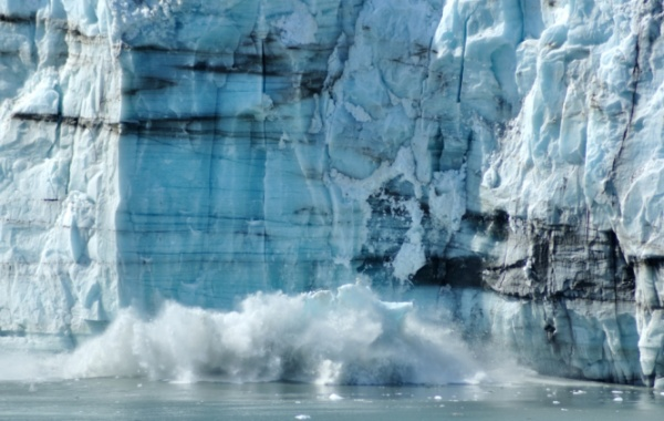 Fjord z Glacier Bay
