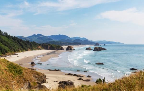 Oregon Beach v Oregonu, USA