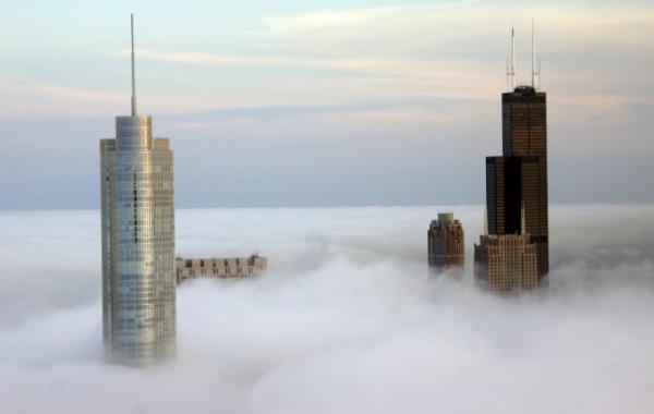 Jak vypadá Chicago ve výšce 400 m