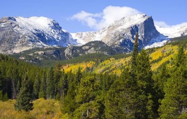 Skalisté hory - národní park