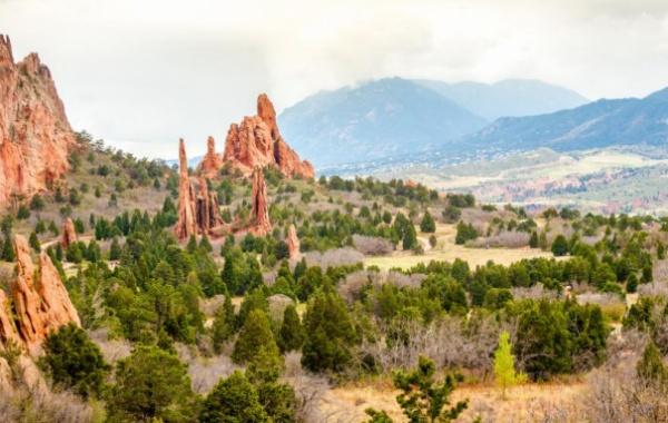Nejzářivější perly státu Colorado: Zahrada bohů