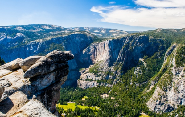 Nejúžasnější vyhlídku Kalifornie najdeme blízko největšího vodopádu USA