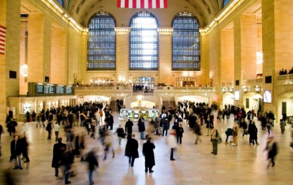Metro NY - Interiér Grand Central Terminal