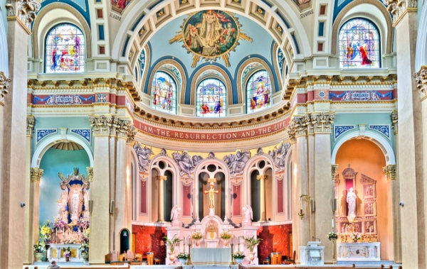 Katedrála svatého Patrika v Harrisburgu.