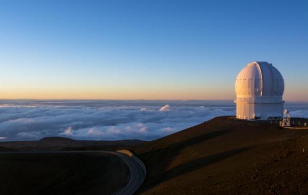 observatoř na sopce Mauna Kea