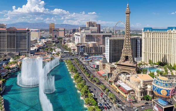 Paříž a Caesar v Americe. To nejhezčí z Vegas