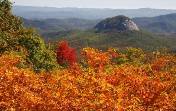 Looking Glass Rock v Severní Karolíně