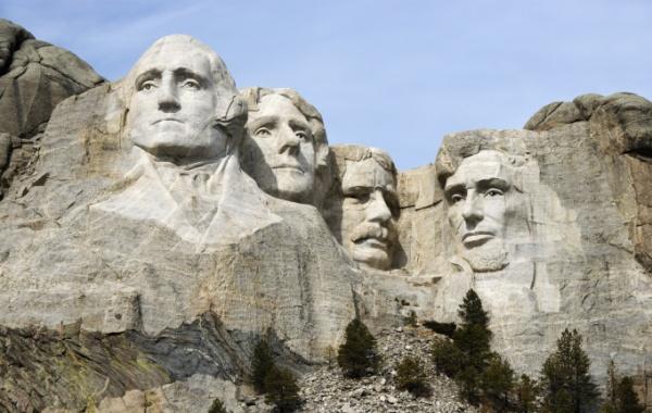 Američtí prezidenti na Mount Rushmore