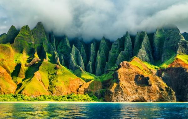 Útesy Na Pali na Havaji