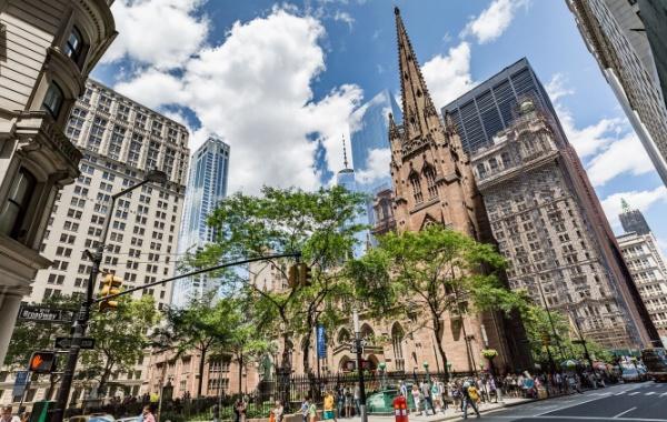 Kostel Trinity Church v New Yorku