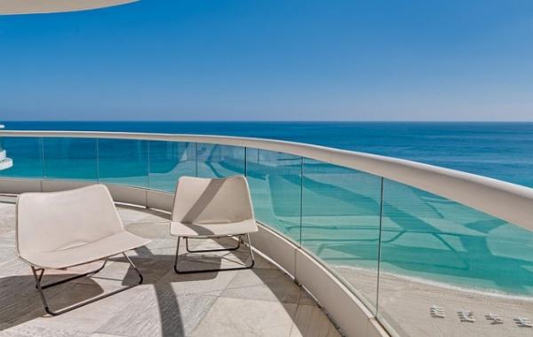 Senzační výhled na pláž v Miami