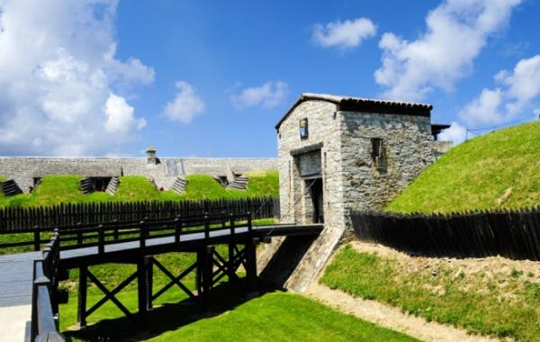 Old Fort Niagara, Buffalo, New York - Amerika.cz