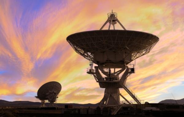 Radioteleskopy v Novém Mexiku