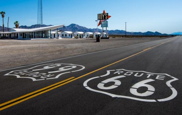 Route 66, západ USA